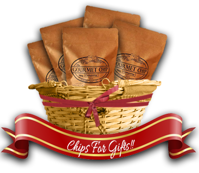 gourmet chip basket graphic